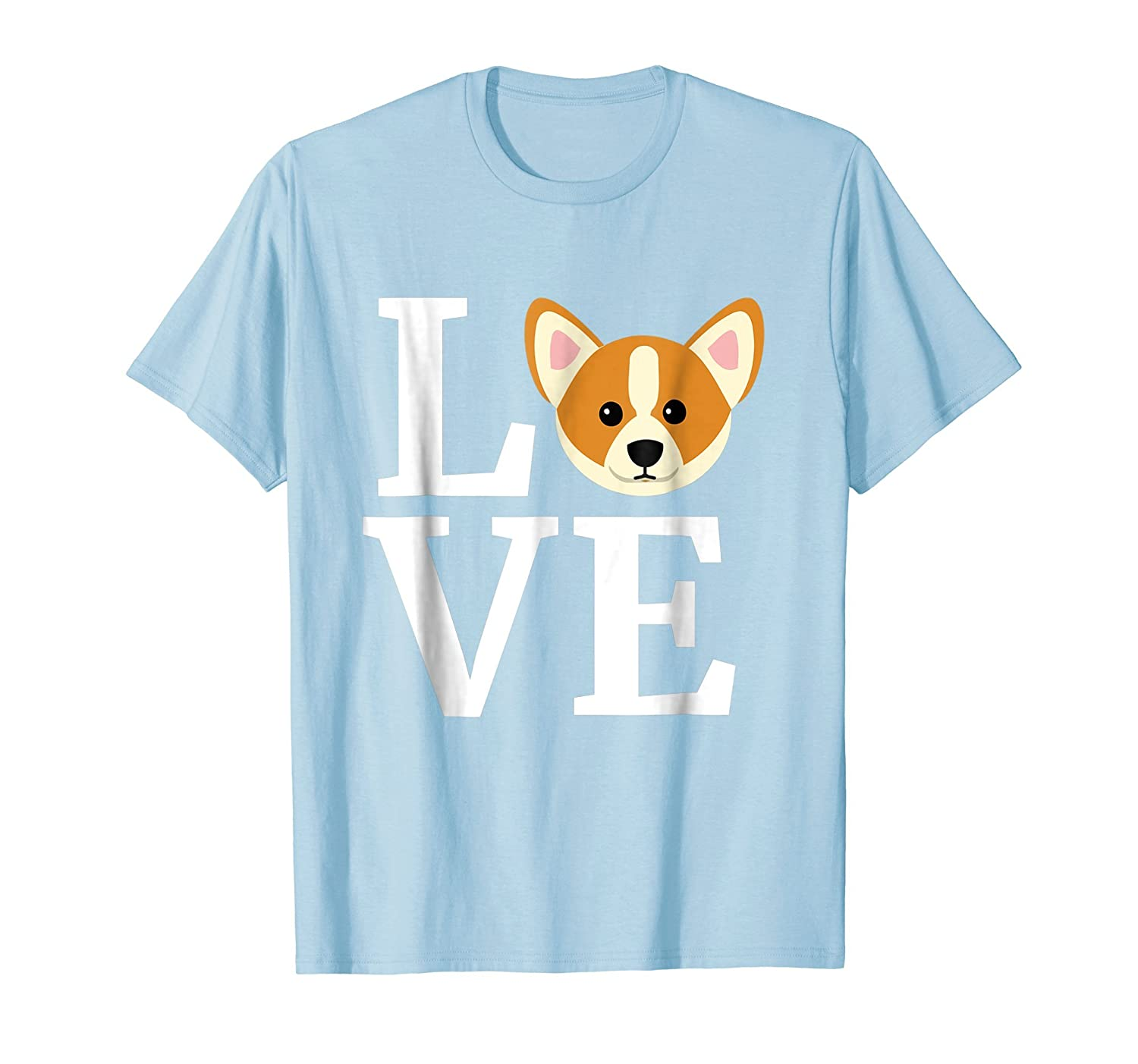 8b680f0001cc Amazon.com  I Love My Corgi T-Shirt Dog - Gifts for Dog Lovers   Owners   Clothing