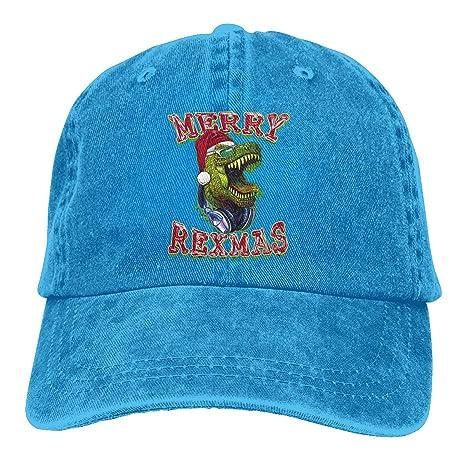 Nifdhkw Feliz Navidad T Rex Dinosaurio Unisex Washed Fashion ...