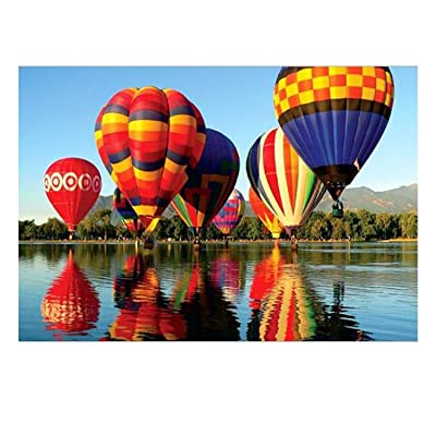 Jigsaw Puzzles 1000 Pieces for Adults for Kids, 1000 Pieces Jigsaw Puzzles - Hot Air Balloon, Educational Toys, Gift for Kids Child Friend, 27.56 x 19.69inch: Toys & Games