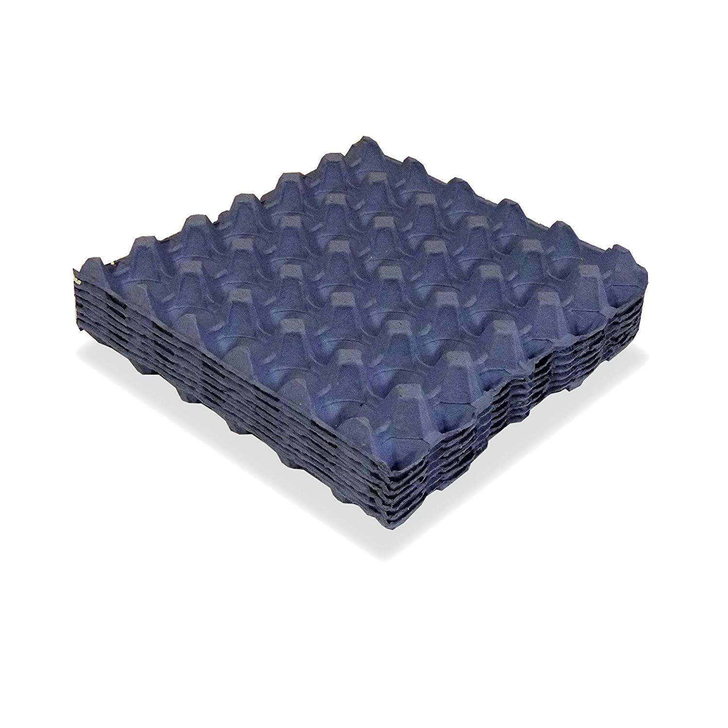 Egg Trays Blue New Fibre 10 Tray Pack