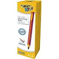Bic Kids Yeni başlayanlar için kurşun kalem, 12 adet, pembe