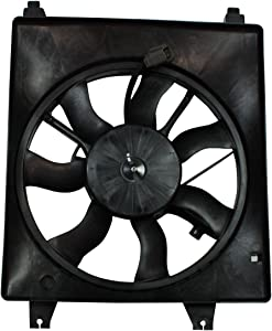 TYC 601020 Replacement Cooling Fan Assembly