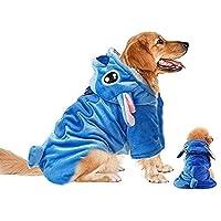 Pet Costume Dog Hoodie Pet Xmas Pajamas Outfit Pet Coat for Small Medium Large Dogs and Cats Pet Stitch Cartoon…