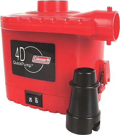 Amazon.com: Coleman 4D - Bomba eléctrica de bomba rápida ...