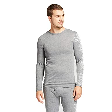 cdaae16f5dcb Image Unavailable. Image not available for. Color: Goodfellow & Co Men's  Wool Blend Long Sleeve Thermal Shirt Heather Gray