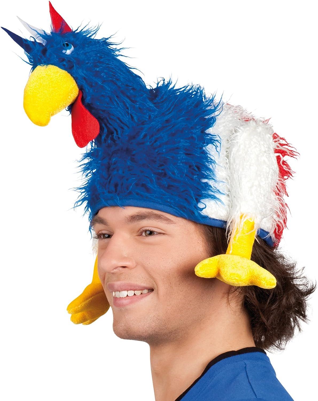 Taglia Unica Boland 62021 Cappello da Adulto Huhn Tricolore Colore: Blu//Bianco//Rosso