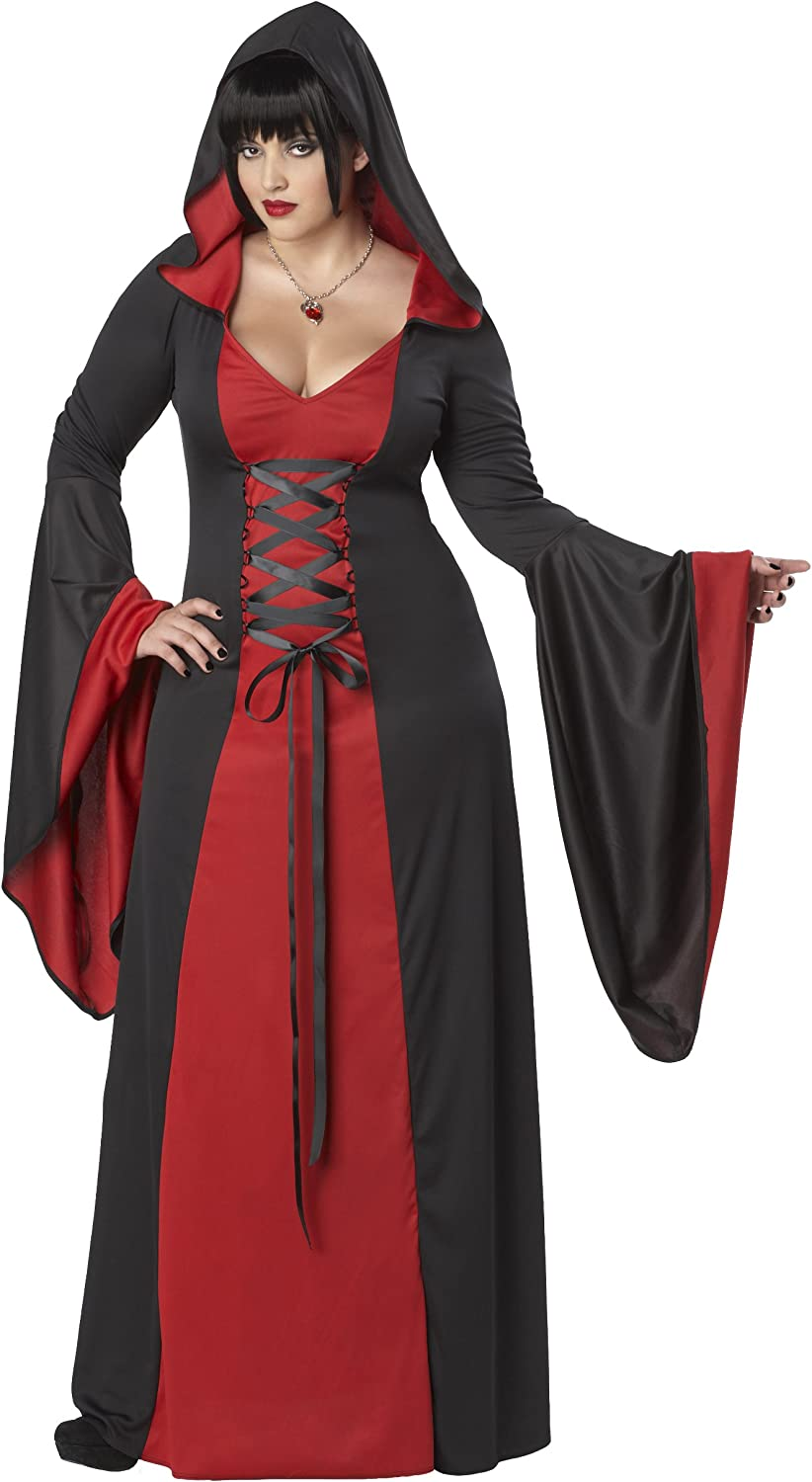 California Costumes Plus-Size Deluxe Hooded Robe Costume