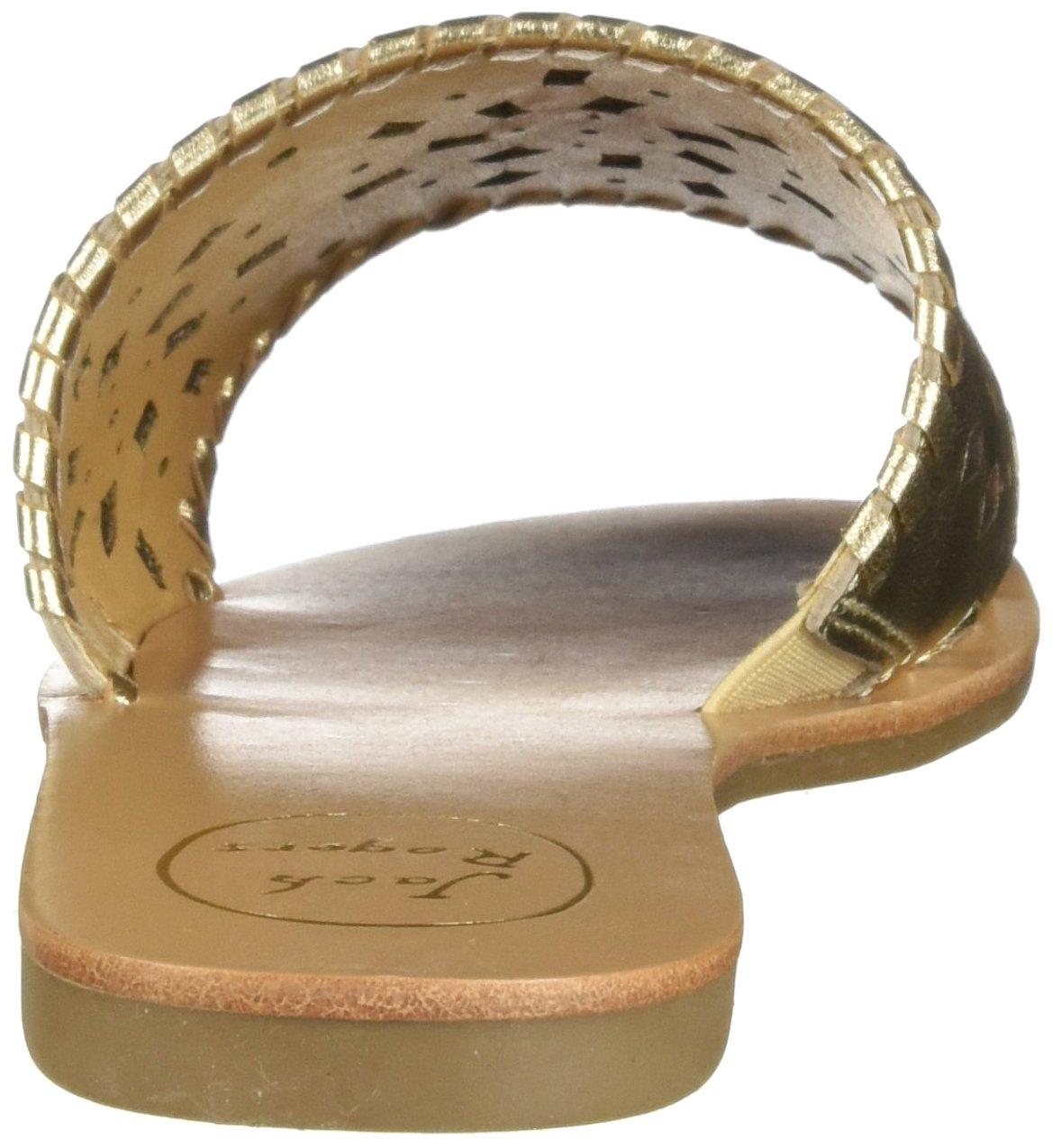 Jack Rogers Women's Delilah Slide Sandal B0753LJSY3 7 B(M) US|Platinum