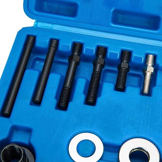 8MILELAKE Power Steering Alternator Pulley Remover Installer Tool freebirdtrading