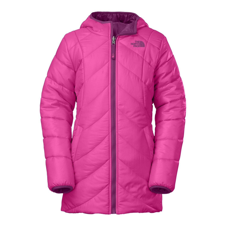 The North Face G Reversible Anabelle Jacket Azalea Pink Girls XXS