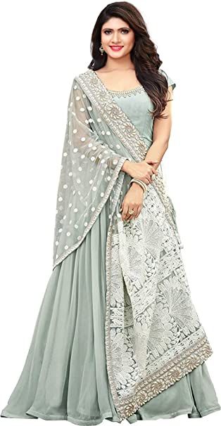 82804e15b568 Royal Export Women s Georgette Dress Material  Amazon.in  Clothing ...