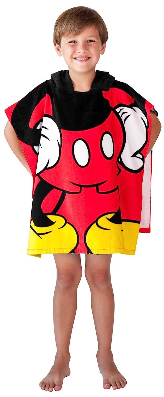 Disney Mickey Mouse Towel Hooded Poncho Bath Beach Childrens