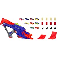 Nerf Nitro - MotorFury Motorized Rapid Rally inc 9 foam Cars & obstacles - Ages 5+