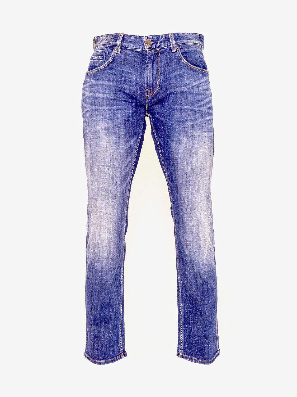 PME Legend Herren Jeans Nightflight Slim Fit Blau