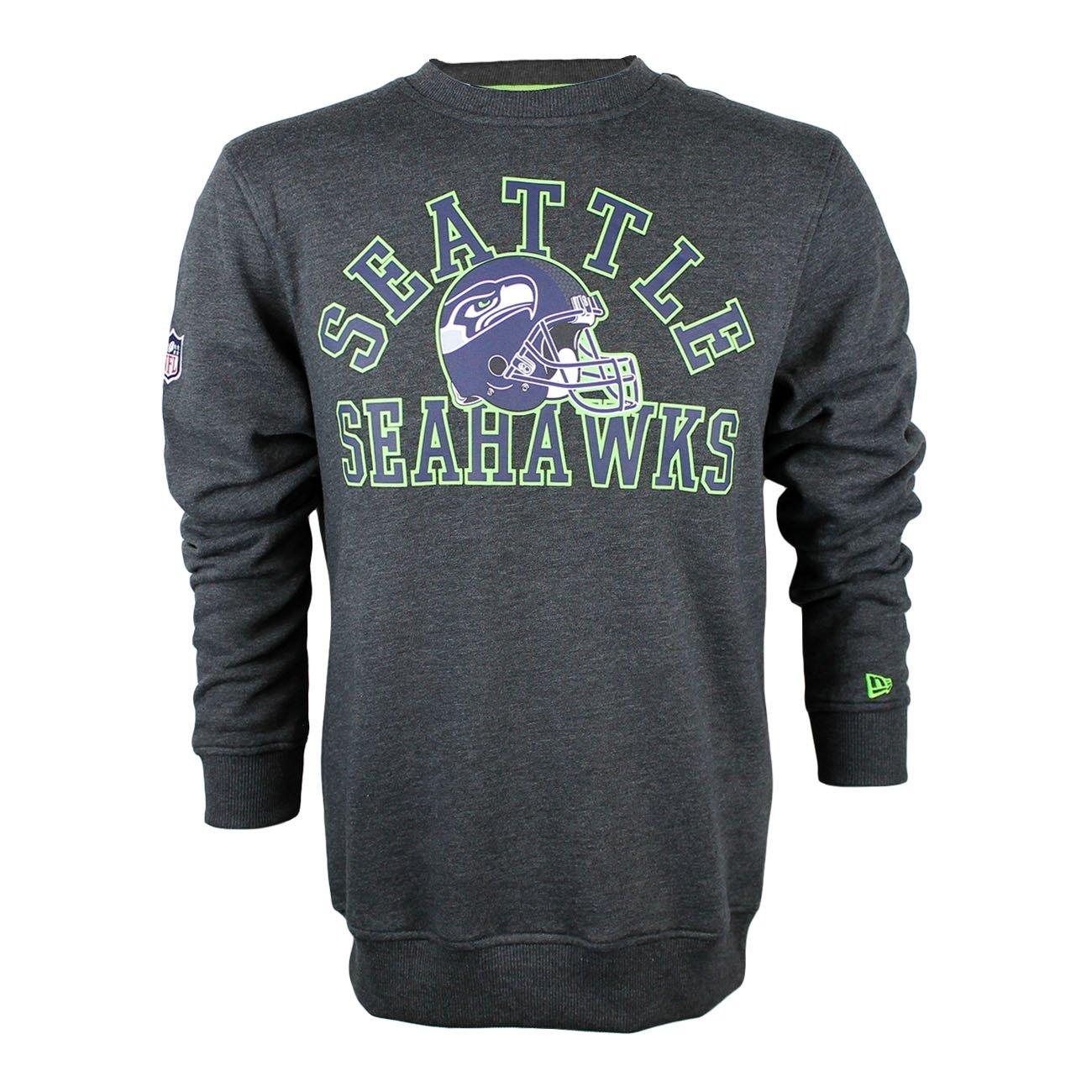 New Era Men Overwear Jumper NFL College Seattle Seahawks Grey 2XL   Amazon.co.uk  Clothing 795673281