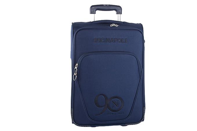 Maleta semirrígida SSC NAPOLI azul equipaje de mano cabina ryanair VS70