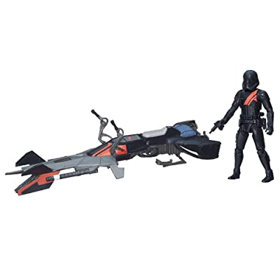 Star Wars The Force Awakens 3.75-inch Vehicle Elite Speeder Bike: Toys & Games