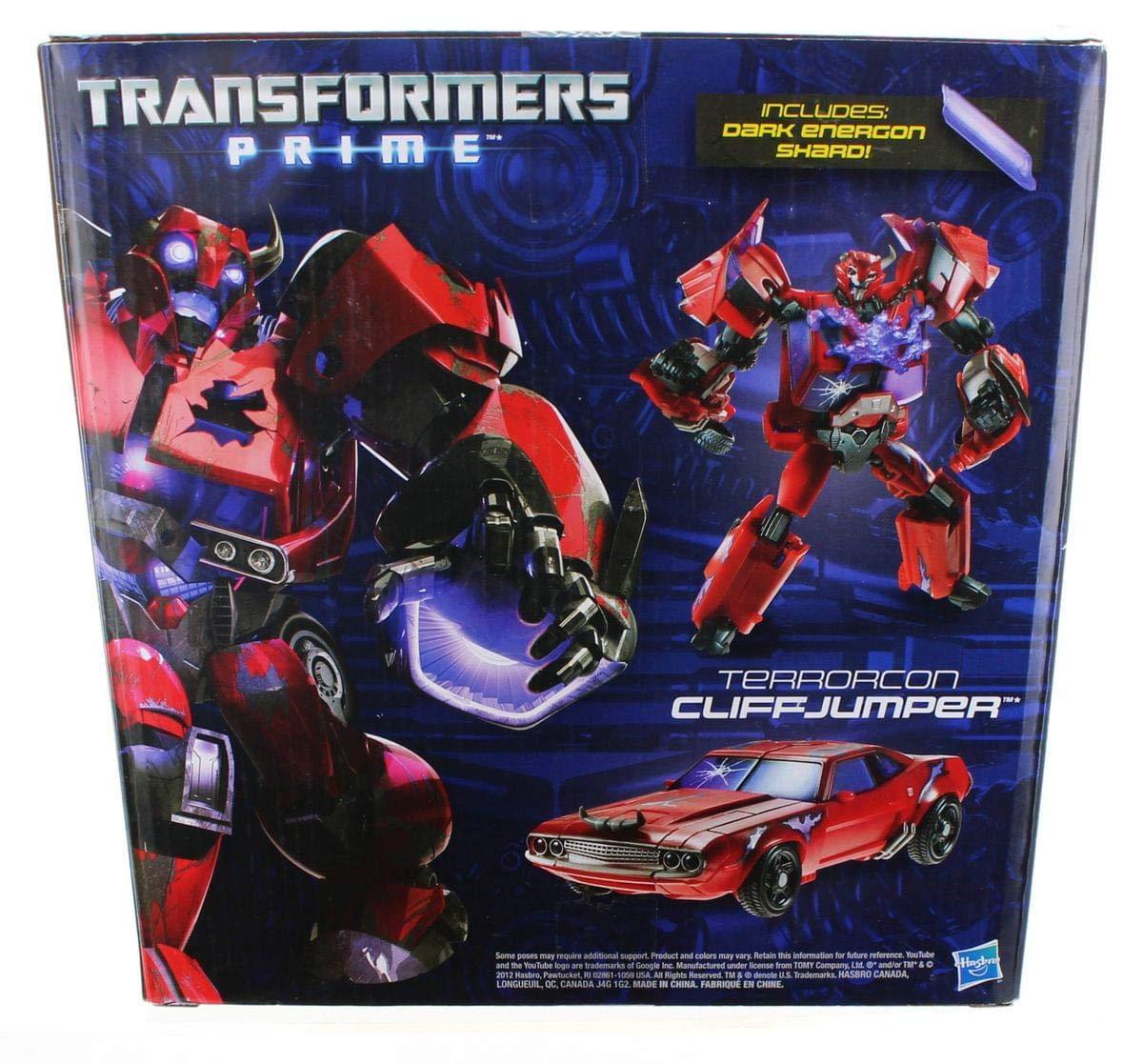 Hasbro Transformers 2012 SDCC Comic Con Exclusive Prime Deluxe Action Figure Rust in Peace Terrorcon Cliffjumper Hasbro Toys 653569778462