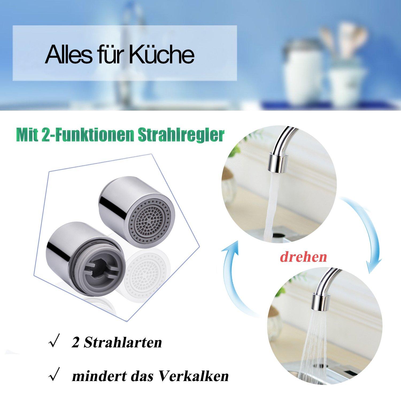 Küchenarmatur Spültischarmatur Spülenarmatur Küche Wasserhahn ...