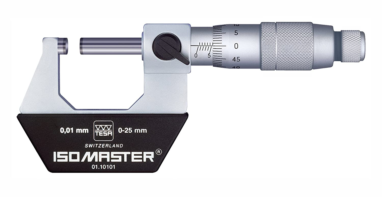 0.01mm Graduation 150-175mm Range Brown /& Sharpe TESA 01.10107 Isomaster Standard Outside Micrometer +//-0.007mm Accuracy Hexagon Metrology