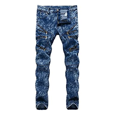 Adelina Pantalones Vaqueros De Los Hombres Ssig Moda Jeans ...