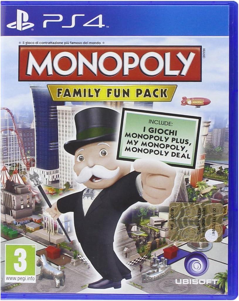 Ubisoft Monopoly Family Fun Pack, Xbox One - Juego (Xbox One, Xbox One, Card Game, E (para todos)): Amazon.es: Videojuegos