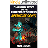 Diamond Steve and the Minecraft Spiders