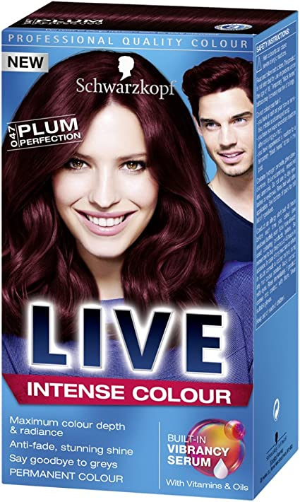 Schwarzkopf Live Color Xxl Hd 47 Ciruelo Perfección Tinte ...