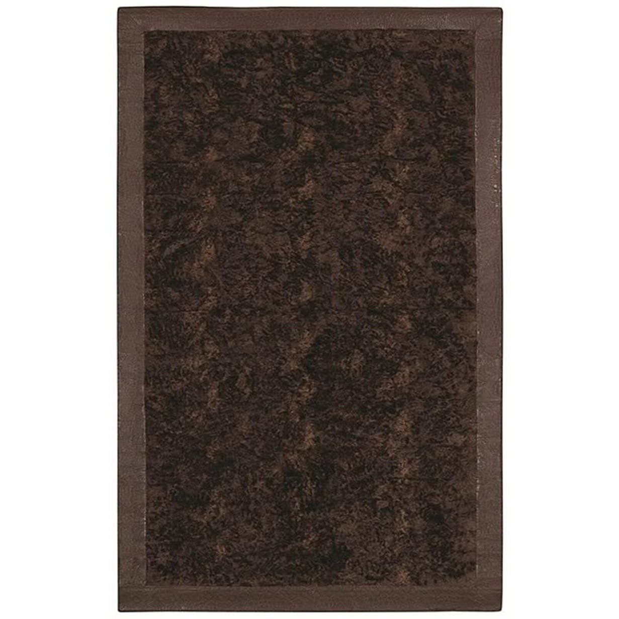 Sai Resouces LLC Brown Acrylic Fur Animal Rug (5'6 x 8'6) 5'6 x 8'6 6' x 9'