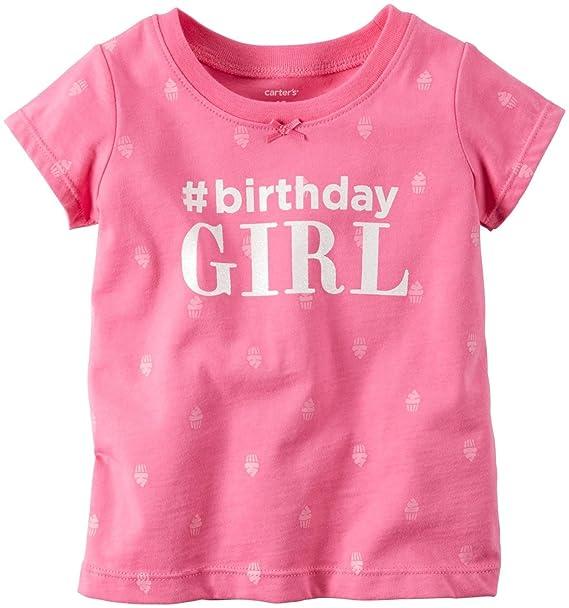 c90fb2709 Amazon.com: Carter's Birthday Tee: Clothing