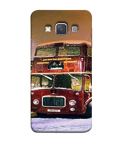 detailed look e9814 eb32a Printfidaa Samsung Galaxy A7 Back Cover Vintage Double: Amazon.in ...