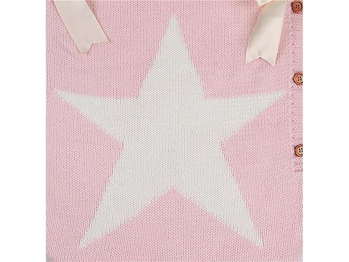 Mochila de bebé Recién nacido pentagram patrón saco de dormir que hace punto Sleepsacks para 0-6 meses (rosa) Mochilas de dibujos animados: Amazon.es: Bebé