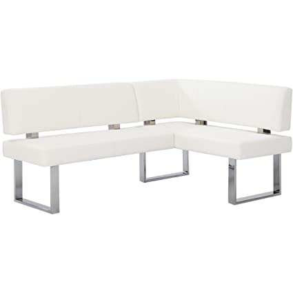 Amazon christopher knight home leah white nook corner dining christopher knight home leah white nook corner dining bench watchthetrailerfo