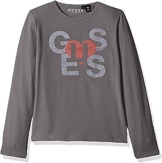 Guess T-Shirt Manches Longues Homme M84i09 Gris Foncé  Amazon.fr ... 39890fed301