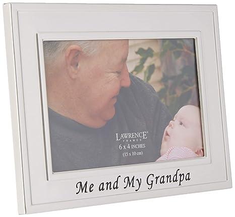 Free Engraving Grandad Photo Frame I heart-Love My Grandad 4 x 6 Photo Frame