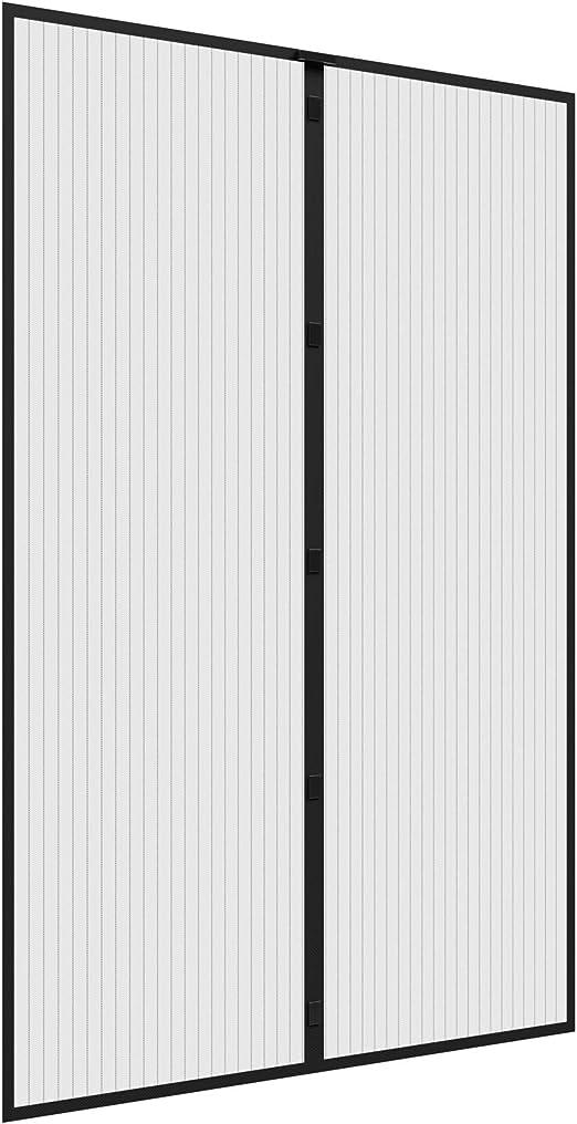 Grau Anti-Mosquito Insekt H/ände frei Fliegengitter Magnetvorhang f/ür T/üren Magnetverschluss f/ür T/üren//Patio CHENG Fliegenvorhang Magnete 70x180cm