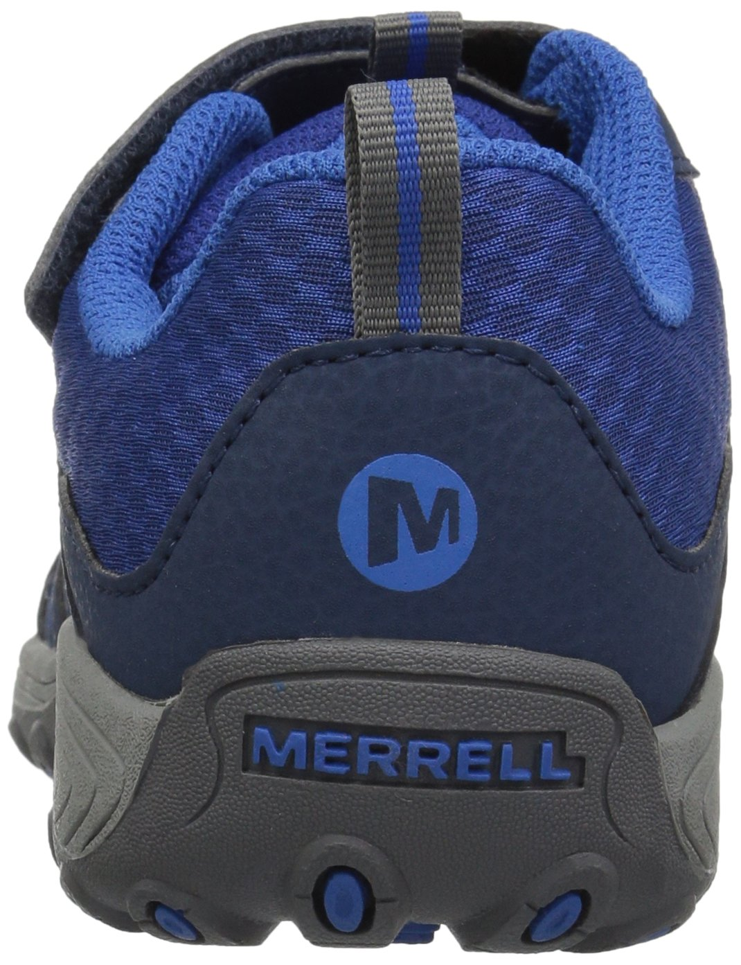 Merrell Trail Chaser Hiking Shoe, Navy, 4 M US Big Kid by Merrell (Image #2)