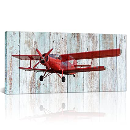 Amazon.com: Large Vintage Airplane Decor Propeller Engine Aircraft ...