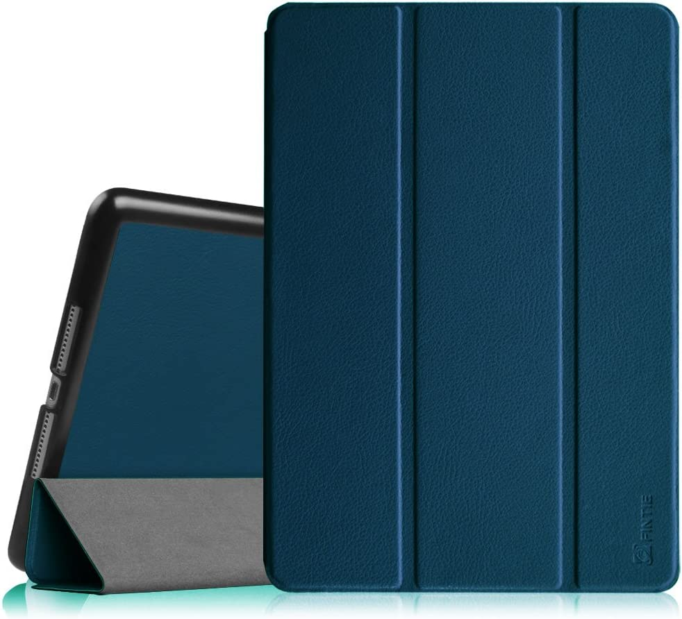"""Fintie Case for iPad Air 2 9.7"""" - [SlimShell] Ultra Lightweight Stand Smart Protective Cover with Auto Sleep/Wake Feature for iPad Air 2, Navy"""