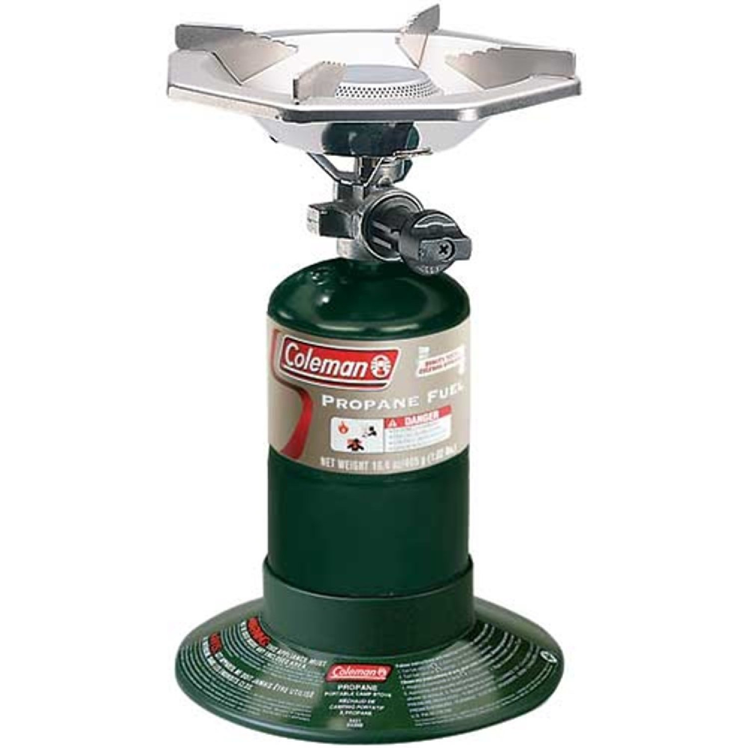 Amazoncom Coleman Bottle Top Propane Stove Camping Stoves