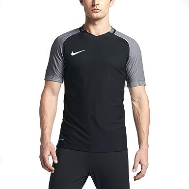 NIKE Strike Aeroswift Short Sleeve Soccer Top 725868-015 Black SZ L ...