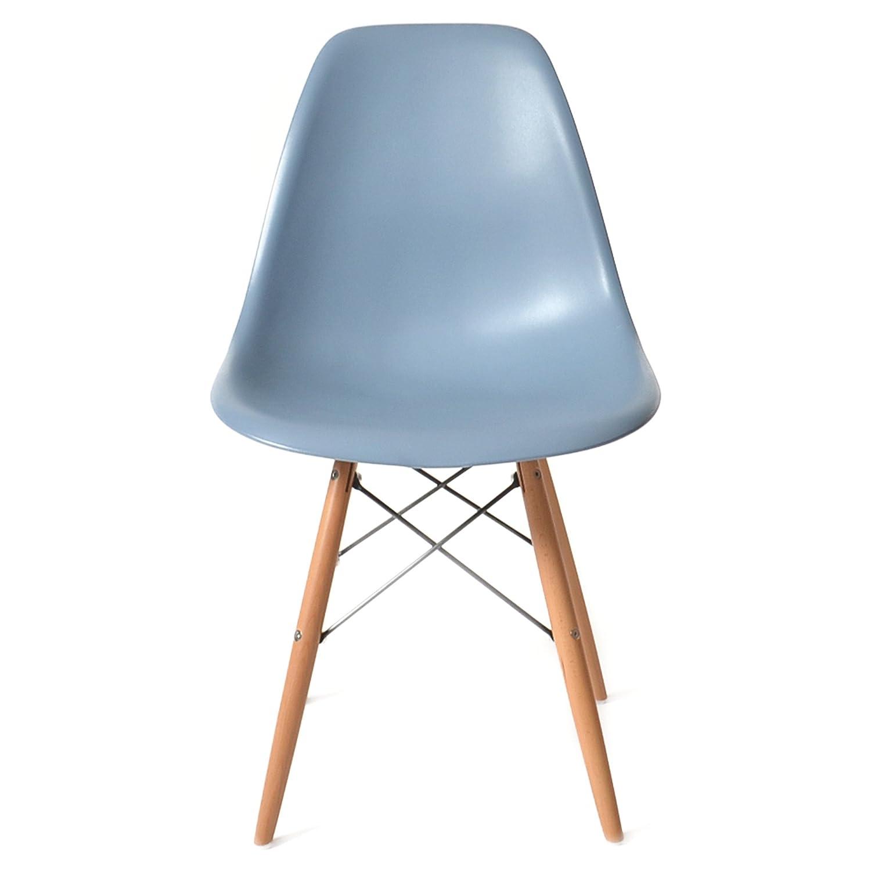 DSW ブルーグレー サイドシェルチェア/Shell Side Chair イームズ PP(強化ポリプロピレン) B00PRTQA30