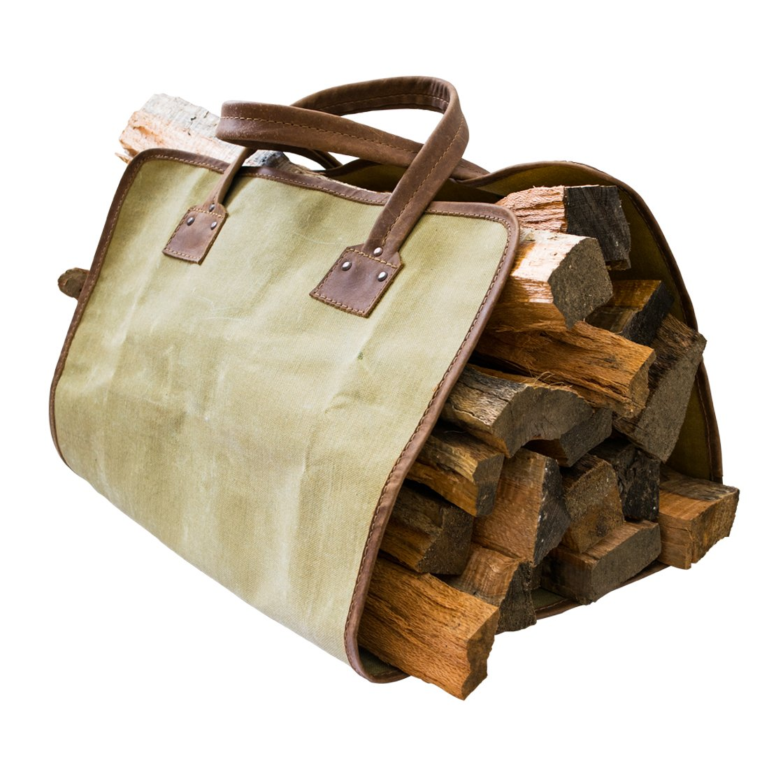 ★お求めやすく価格改定★ Waterproof Waxed by Canvas Fire Bag Drink Handmade by Hide Bag & Drink B01K506W0Q, 新品即決:2321037a --- movellplanejado.com.br
