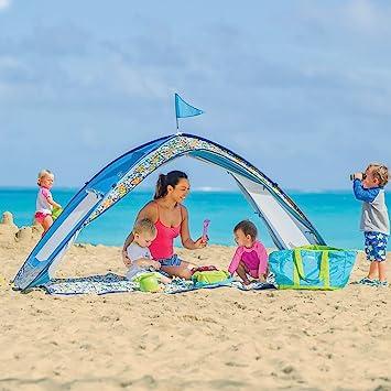 Sun Smarties Family Beach Cabana Tent  sc 1 st  Amazon.com & Amazon.com: Sun Smarties Family Beach Cabana Tent: Toys u0026 Games