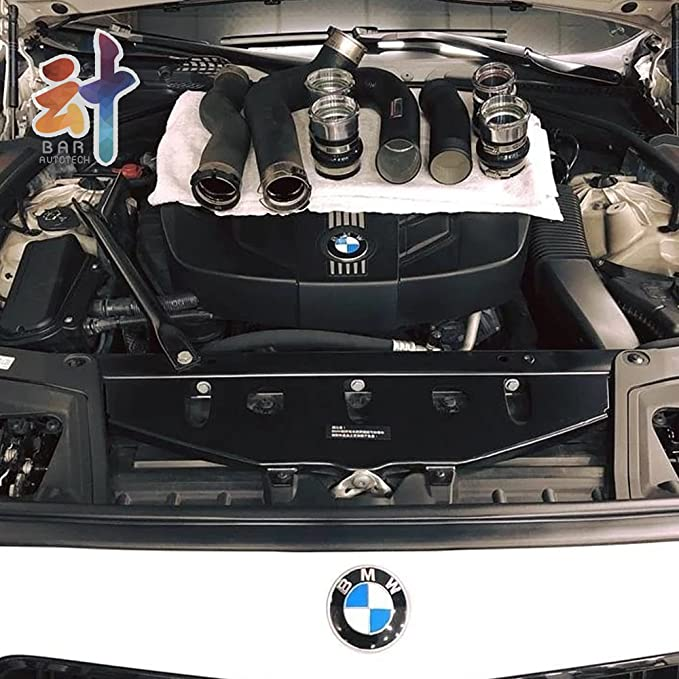 Amazon.com: 🔹 FTP 🔹 Black Aluminum Charge Pipe + Boost Pipe Kit for BMW 5 Series N47 F07 GT F10 F11 520d Diesel: Automotive