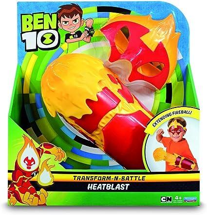 Amazon.com: Ben 10 – Roleplay con máscara y misil de lance ...