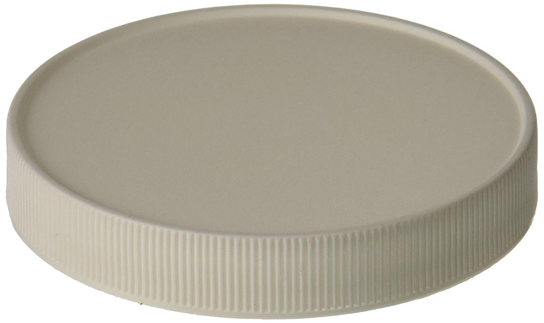 J.G Finneran Associates Inc. 89-400mm Cap Size Case of 100 JG Finneran D0400-89 Polypropylene White Closure with F217 Liner