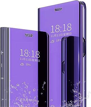 XINKO Xiaomi Mi 9 SE Funda, Espejo de la galjanoplastia Ultra ...