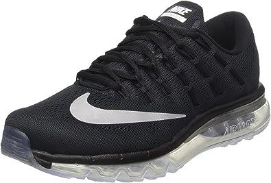 NIKE Air Max 2016 Size 6.5 Mens Running schuhe Black