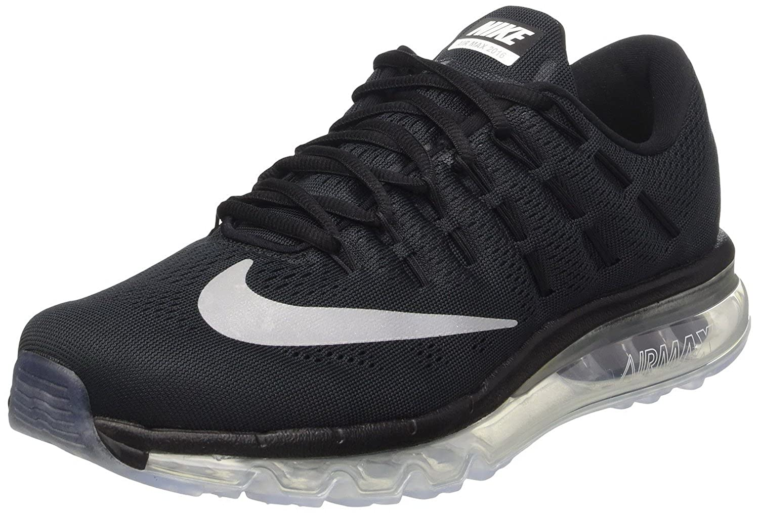 NIKE Air Max 2016 Size 6.5 Mens Running Shoes Black